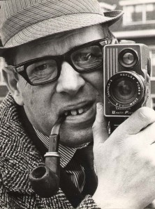 Fred Vogel met camera