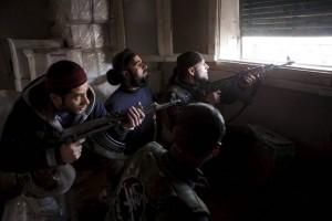 Jihadisten in Aleppo