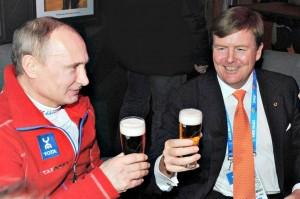 Poetin-en-Willem-Alexander
