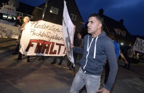 protest in Deurne