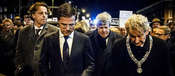 Charlie Hebdo protest