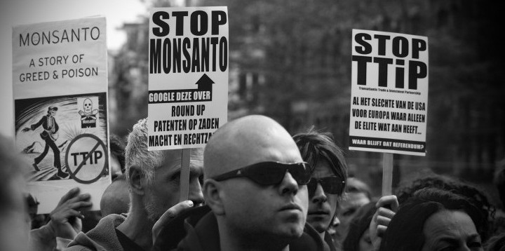 Monsanto Demonstratie