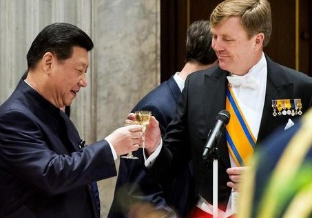 Willem-Alexander in China