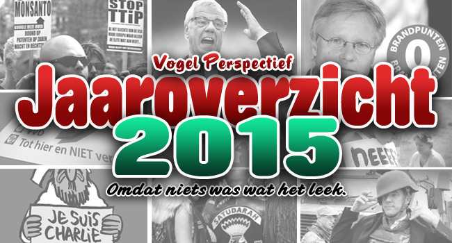 Jaaroverzicht 2015 by Herman Vogel